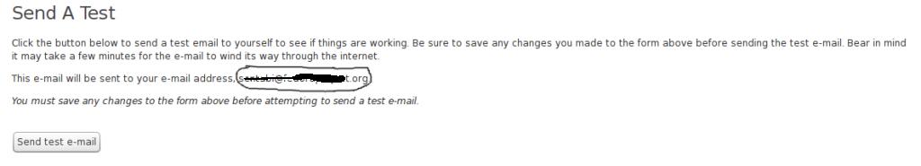 email yang dikirim tes