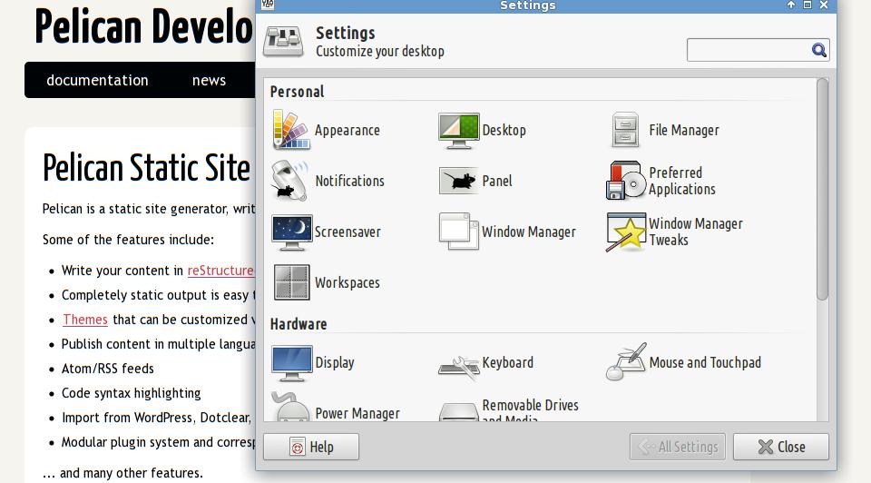 desktop font