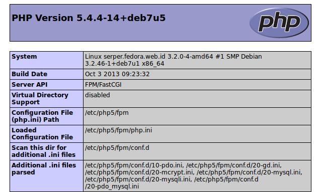 serper info php
