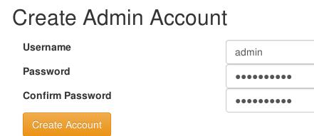 create admin ampache