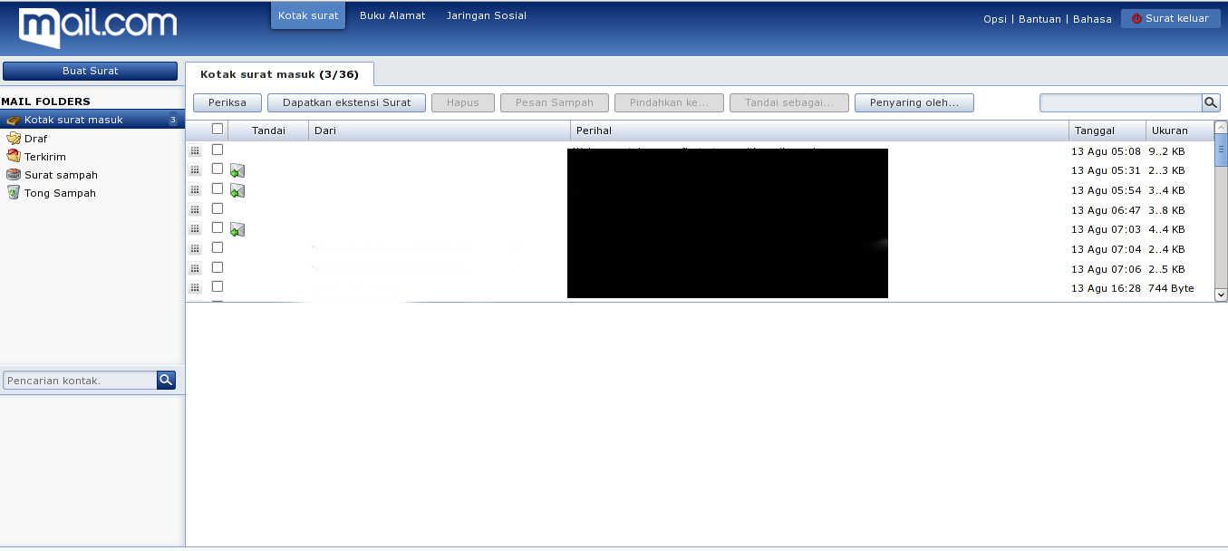 Kelebihan dan Kekurangan Email Gratis Mail.com