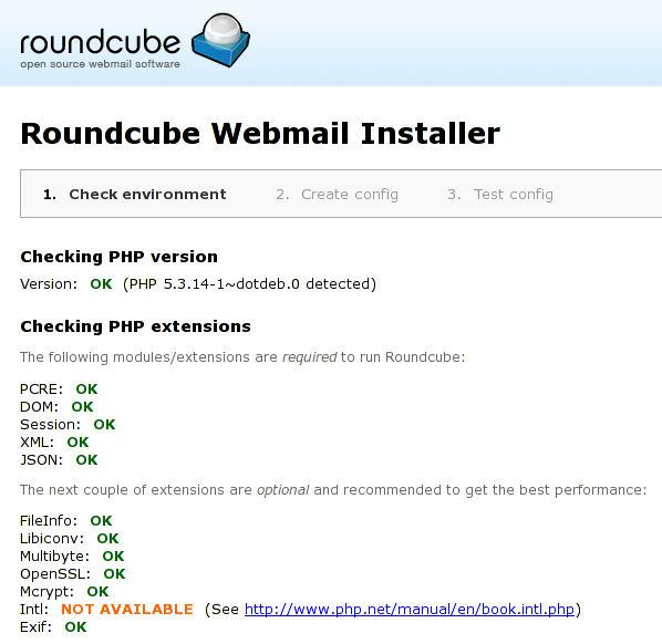 tahap 1 roundcube 0.8.1