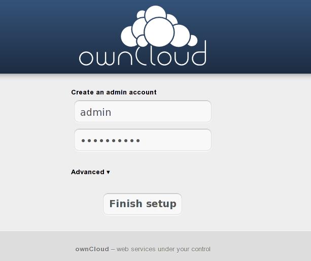 owncloud tahap 1