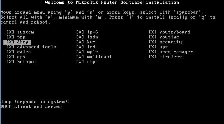 Tutorial Instalasi Mikrotik 5.2