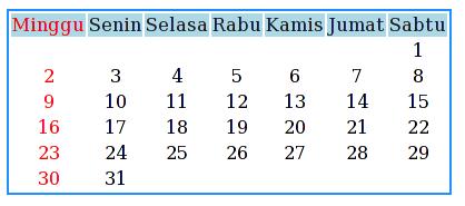 kalender php