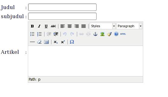 tinymce html php