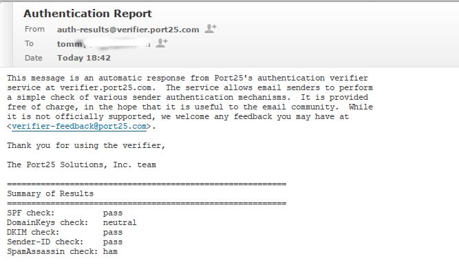 dkim spf mail server