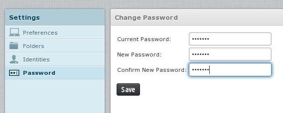 password baru