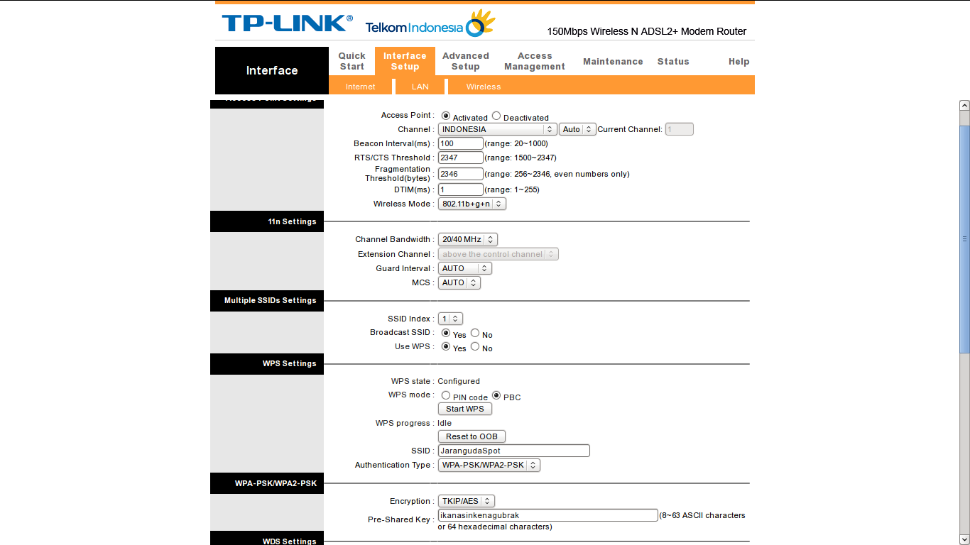 Mengubah Modem Wireless Router Menjadi Access Point « Jaranguda