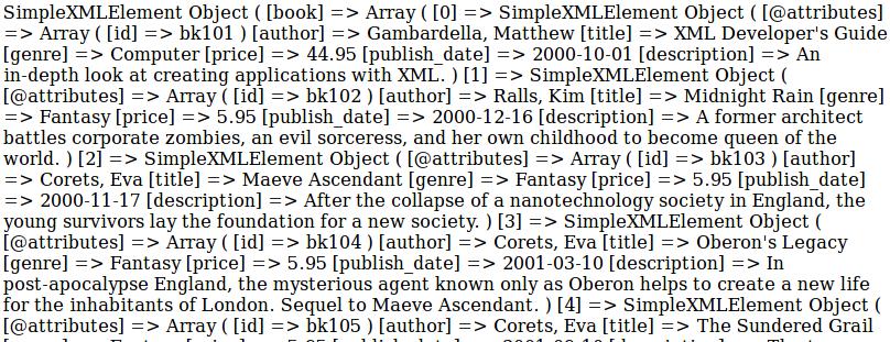Parsing XML di PHP Dengan Simplexml