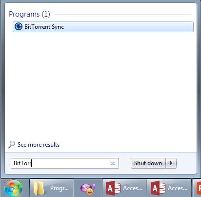 Bittorrent Sync Windows