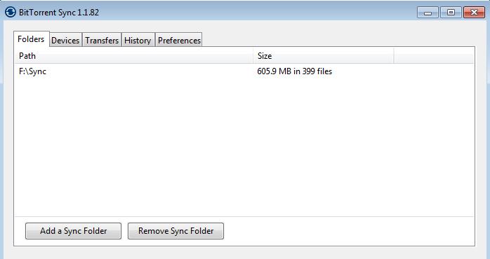 Folder yang mau dishare