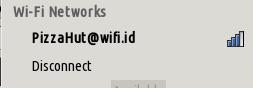 pizzahut wifi id