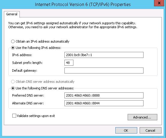 ipv6 online mantap