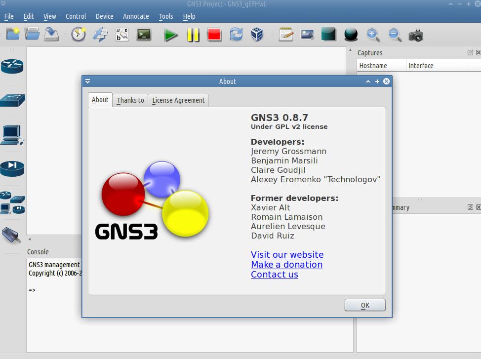 gns3 cisco simulator