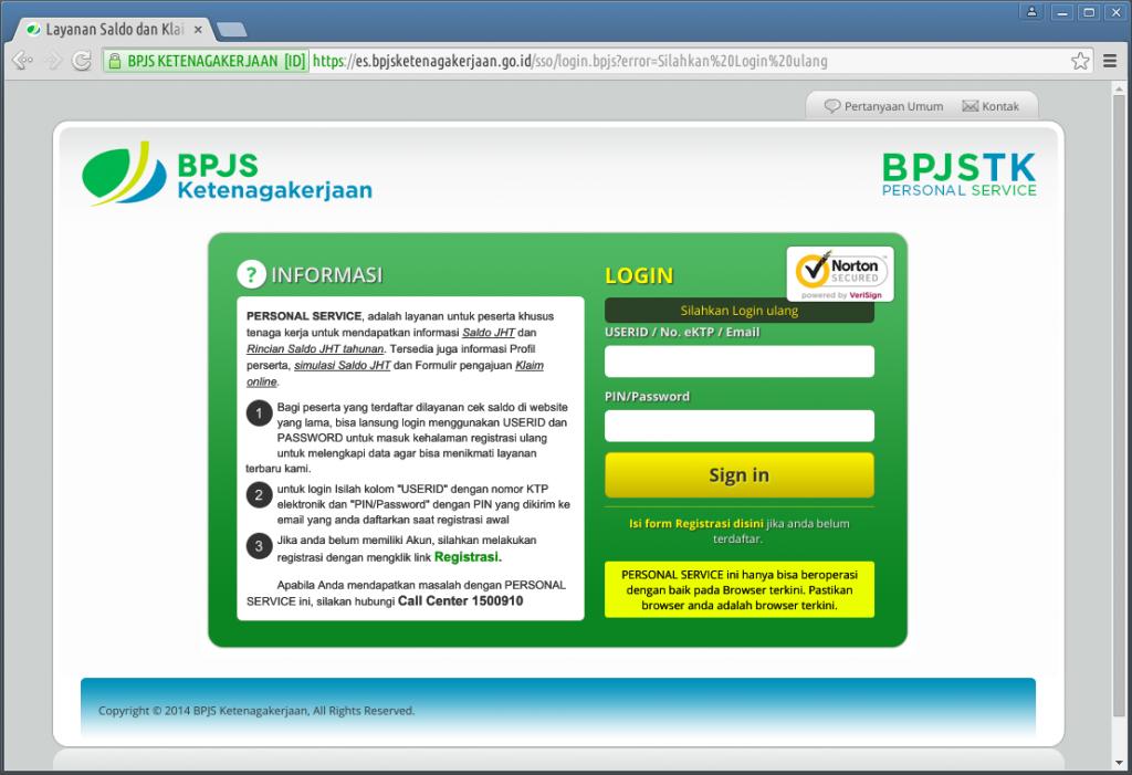 layanan saldo bpjs