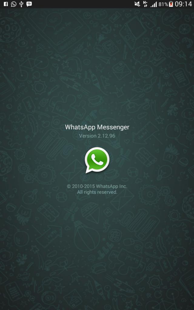 WhatsApp kembali