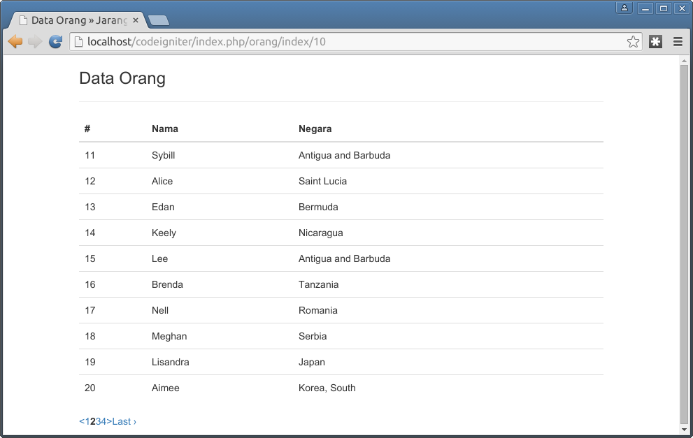 screenshot codigniter pagination2
