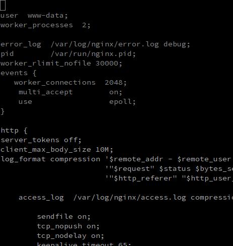 konfigurasi nginx