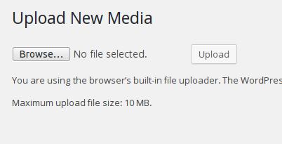 max upload wordpress nginx