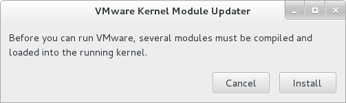 vmware kernel update