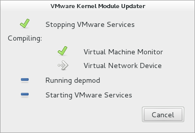 proses update kernel module