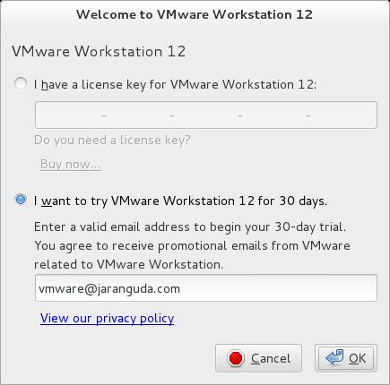 trial version vmware workstation