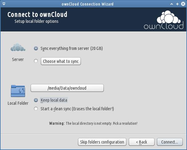 pindah folder owncloud