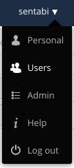 user admin setting