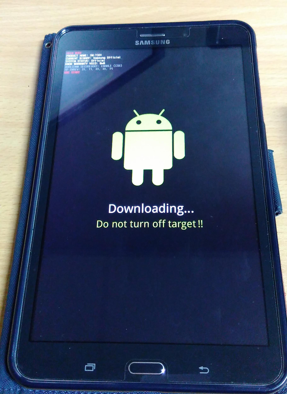 Upgrade Samsung Tab 4 SM-T331 ke Lollipop 5 1 1 « Jaranguda com