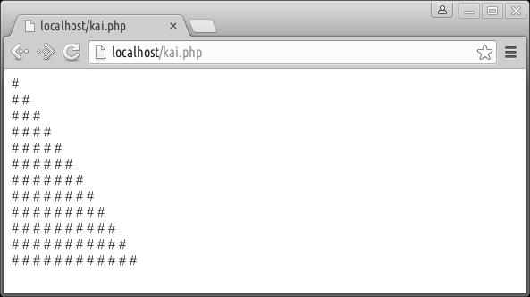 php tanpa looping di browser