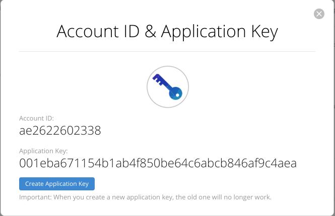 account id application id b2