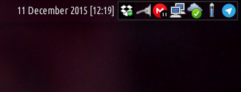 xfce panel date clock