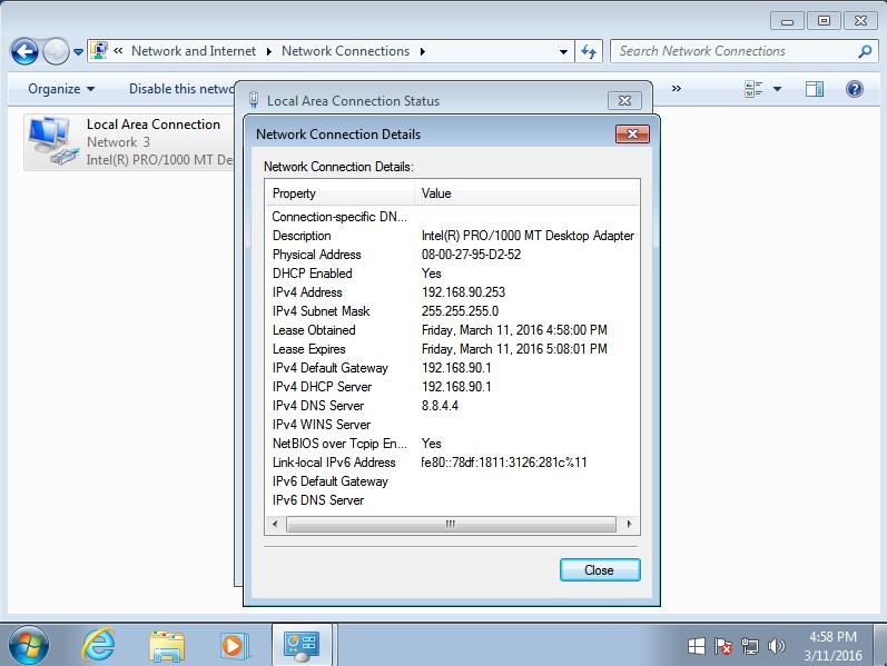 client dapat IP dari Mikrotik