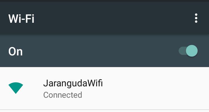 jaranguda wifi