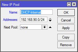 new ip pool