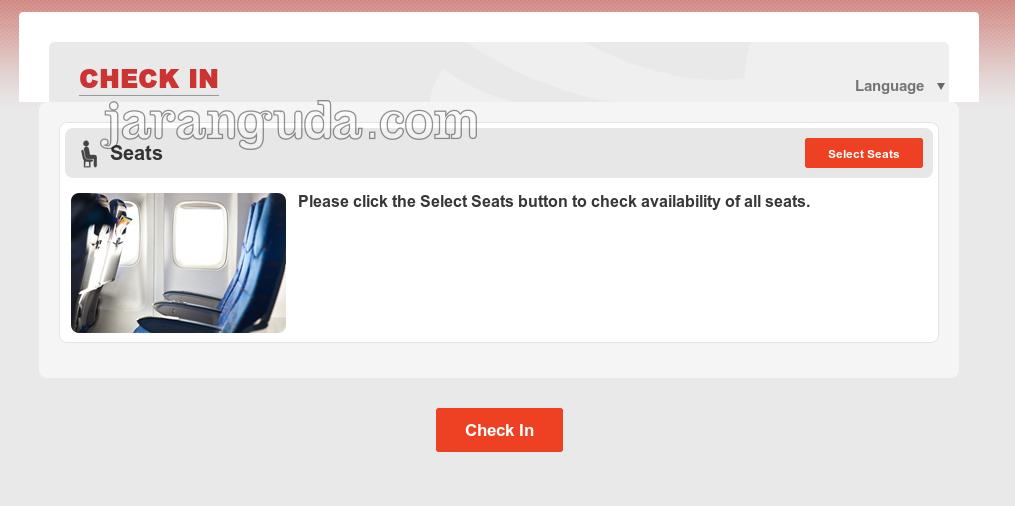 batik air select seat