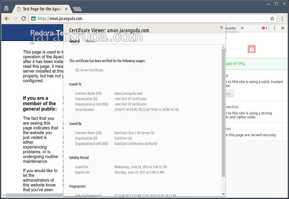 contoh ssl di localhost