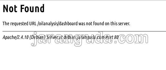 laravel 404 not found