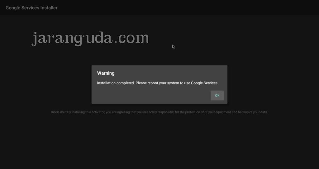 RemixOS Update Google Service reboot