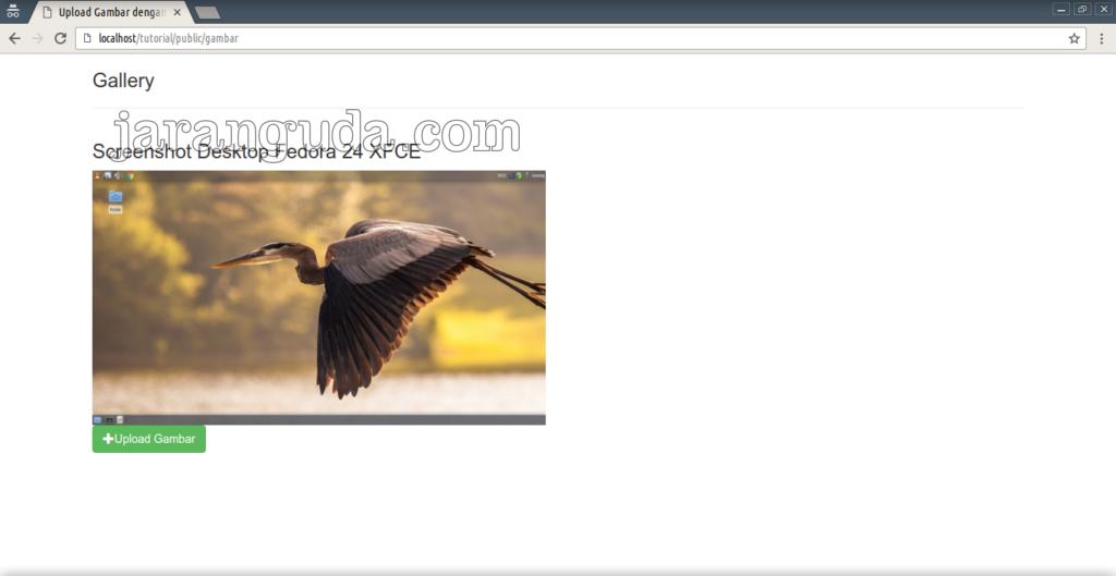 tutorial laravel setelah upload gambar