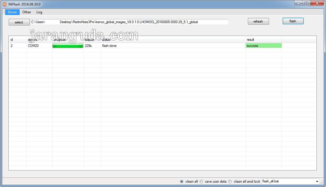 Cara Upgrade MIUI Ke MIUI 8 Tanpa Unlock Bootloader