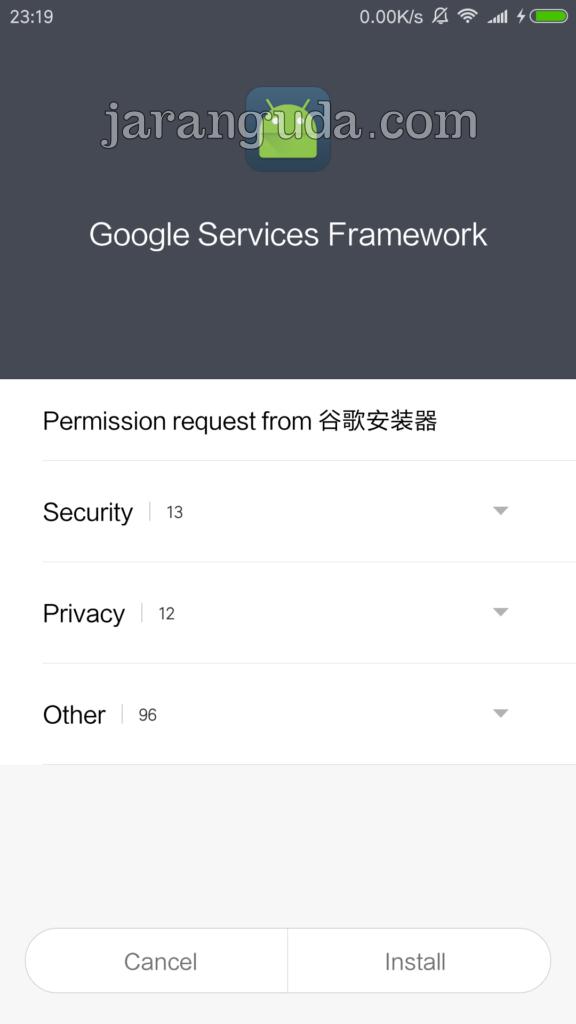 Google Service Framework