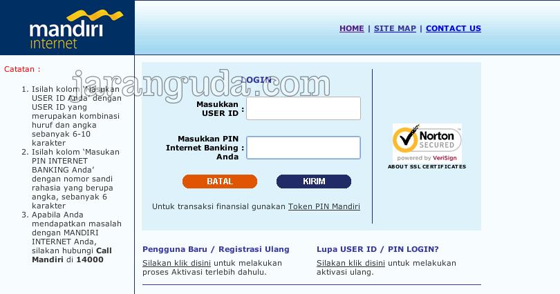 login Internet Banking Mandiri