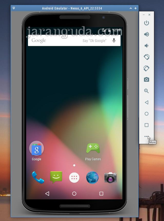android emulator more