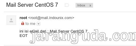 email dari postfix ke gmail