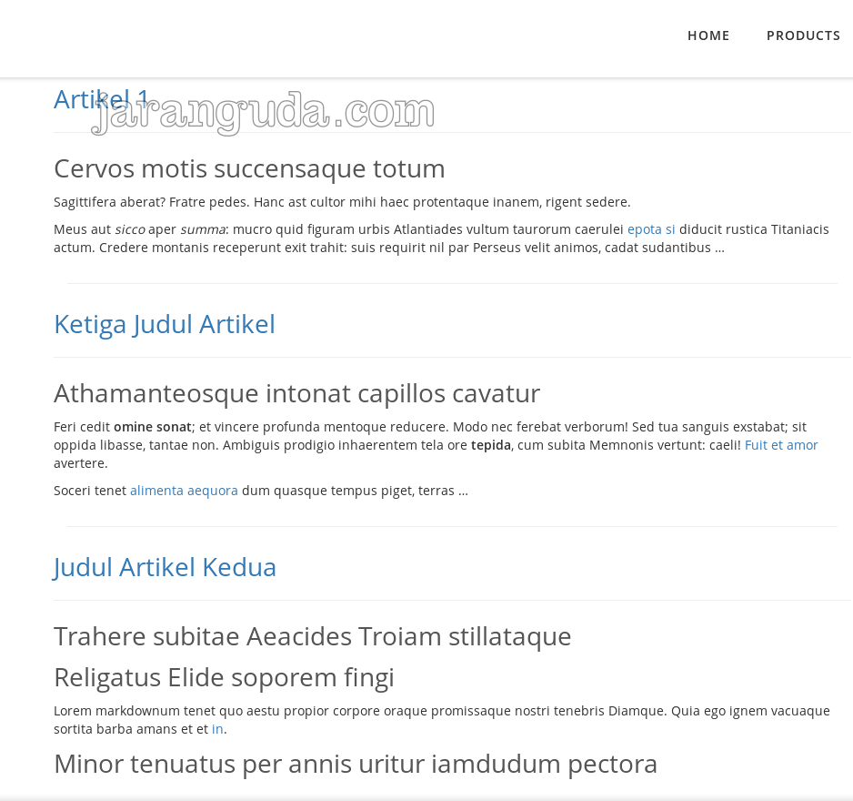 tampilan page tutorial pelican
