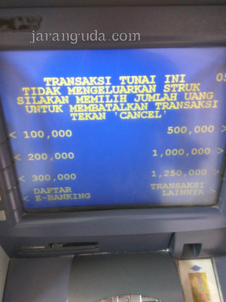 tahap 1 ATM BCA