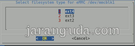 Filesystem EXT4
