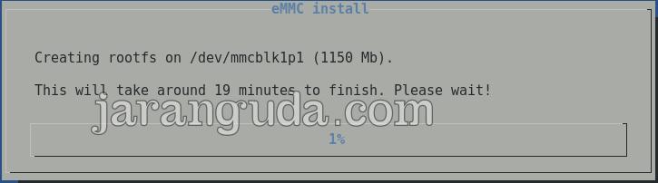 proses install emmc